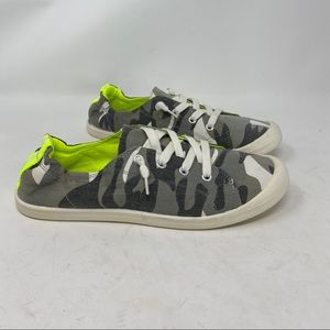 Camo print Madden Girl sneakers size 10
